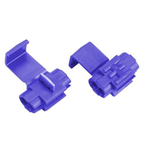 Absolute USA SPL1614B 16/14 Gauge Scotch Lock Quick Slide Auto-TAP Connectors