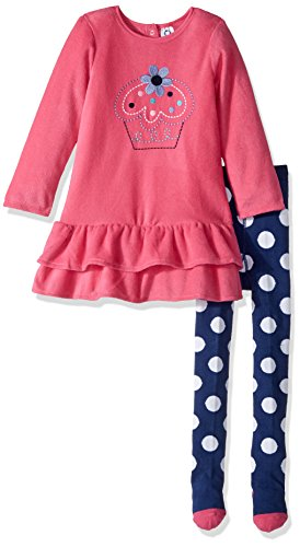 infant and girl matching dresses - 4