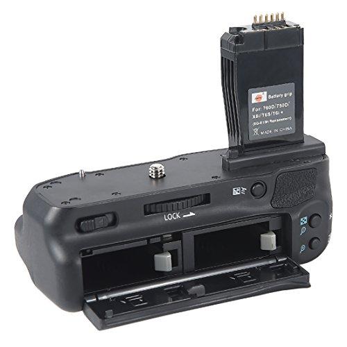DSTE Pro BG-E18 Vertical Battery Grip For Canon 750D 760D IX8 T6S T61 Digital Camera as LP-E17