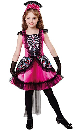 Bristol Novelty Queen of Death Costume (L) Childs Age 7 - 9 Years