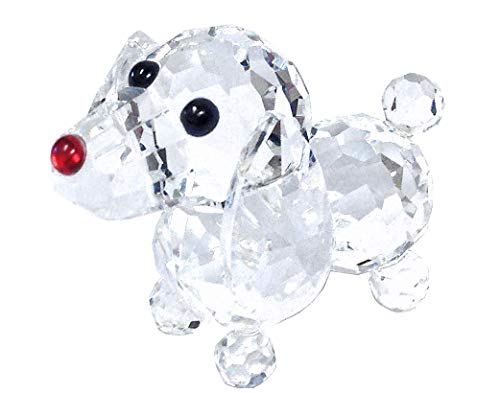 Amlong Crystal Figurine Collection Crystal Dog Collectible