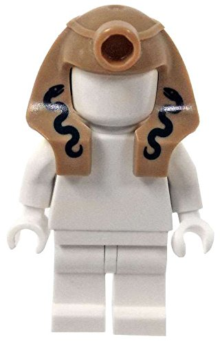 [LEGO Headgear Pharaoh Headdress with Two Snakes [Loose]] (Pharaoh Headdress)