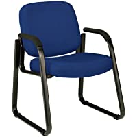 OFM 403-804 Reception Chair Arms - Fabric Guest Chair, Navy