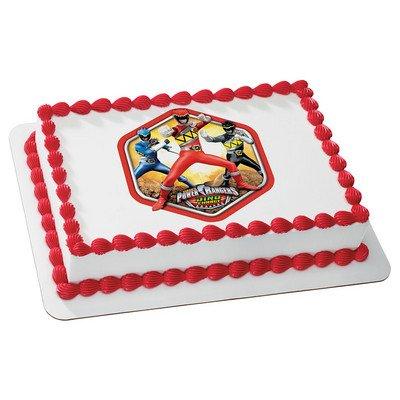 1/4 Sheet - Power Rangers - Edible Cake or Cupcake Topper (Power Rangers Cake Decorations)
