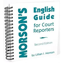 Morson's English Guide for Court Reporters
