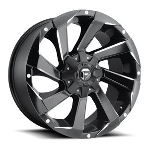 Fuel Razor black Wheel with Painted Finish (20 x 9. inches /6 x 135 mm, 20 mm Offset) American Racing Razor Wheels