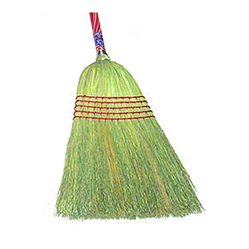 HUB City Industries 24-C  Rebel 100% Corn Broom, 15/16'' x 42'' Handle