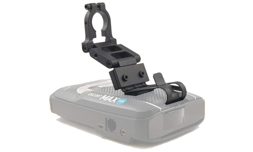 Patented Radar Mount BlendMount BMX-2000R Aluminum Radar Detector Mount for Escort MAX 360/MAX2/MAX/GT-7 - Compatible with Most American and Asian Vehicles - Made in USA - Looks Factory Installed