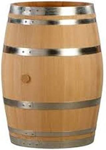 Barril de roble. Barril de madera de 200 litros para el ...