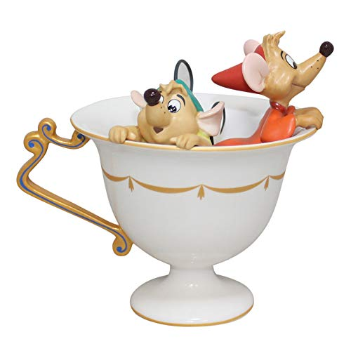 Disney WDCC Tea for Two, Gus and Jaq Figurine 11K414100