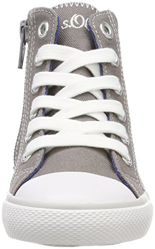 Baskets Gris Fille Hautes 35202 oliver grey S v1WnxEw1