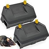 Rat Bait Station 2 Pack - Rodent Bait Station