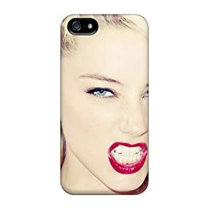 Snap-on Amber Heard Skin Compatible With For Iphone 6 Phone Case Cover