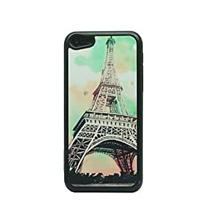Tower Drawing Pattern Hard Case for iPhone 5C
