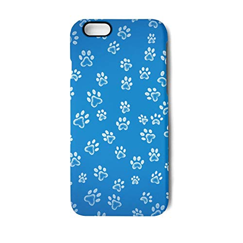 Dog Cat Paw Footprint Phone Case for iPhone 6/6S 6/6Splus 7/8 7/8Plus Dual Layer Protection TPU Anti-Fingerprint Anti-Scratch Fashionable Glossy Soft Anti Slip Thin Shockproof Perfectly Fit