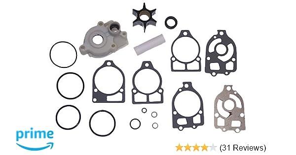 Water Pump Kit for Mercury V6 135 150 175 200 220 Hp XR4 XR6 46-42579A4 18-3319