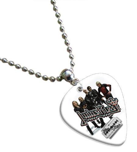 Judas Priest Guitar Pick Collier Band Médiator