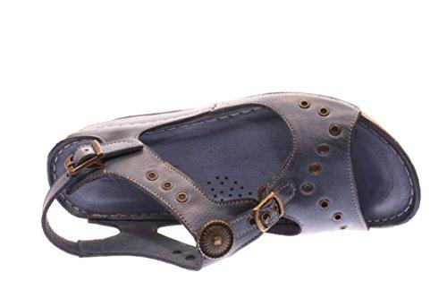 Mujeres Sandalias jeans azul, (jeans) 032083
