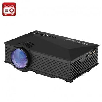 UNIC UC46 portátil proyector - LCD + LED, 800 x 480, 1200 lúmenes ...