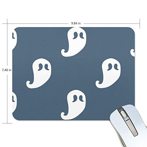 Basics Gaming Mouse Pad Halloween Spirit Mouse Mat Gaming Mouse Pad Computer Keyboard Mouse Pad 9.84x7.84x0.2 in