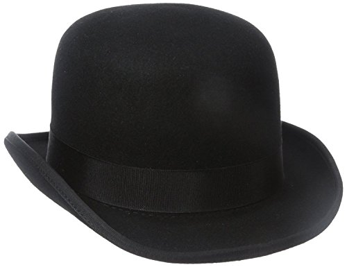 STACY ADAMS Men's Wool Derby Hat - Black - Large