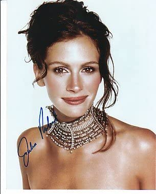 Julia Roberts Signed Autographed Young Sexy Gorgeous Glossy