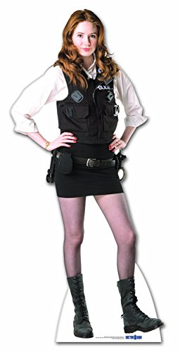 Stag's Leap Wine Cellars Star Cutouts Cut Out of Amy Pond Police Woman Uniform -