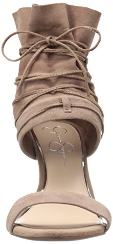 Jessica Simpson Womens Madeena Dress Pump Totalmente Taupe