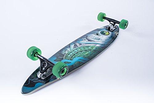 Shiver Skateboards Dakuwaqa Mini Pintail Complete Longboard