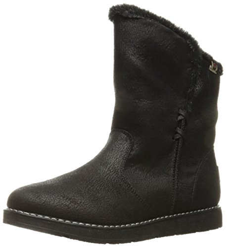 Bobs Puddle from Cozy BOBS Women's Winter Alpine Black Boot Skechers Jump PqTtBwSqx