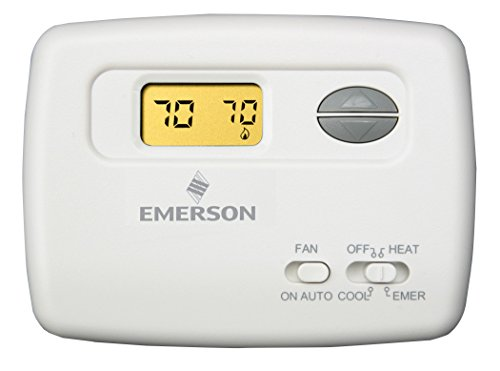 emerson 1f79 111 digital non programmable thermostat programmable White Rodgers Thermostat Reset emerson 1f79 111 digital non programmable thermostat programmable household thermostats amazon com