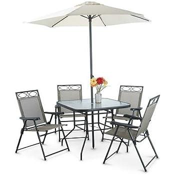 Amazon Com Castlecreek Deluxe Outdoor Patio Table