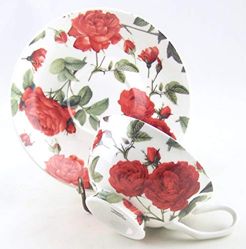 Old Rose Chintz - Fine English Bone