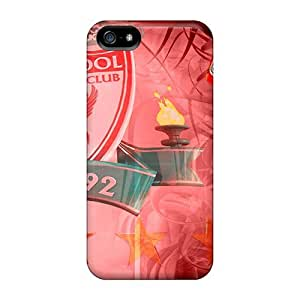 Hot Beloved Club Liverpool First Grade Tpu Phone Case For Iphone 5/5s Case Cover