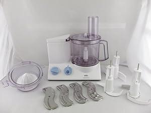 Amazon.com: Braun K650 Multiquick 600-watt Kitchen Machine Food Processor: Full Size Food ...