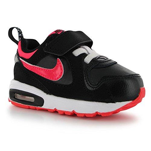 Nike Air Max Trax  Tdv  Black Hyper Punch White 644474 003  8C