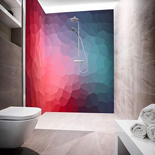 Mampara de ducha de aluminio compuesta como placa individual o juego de placas para ducha de esquina corte a medida – Diseño Candisma Poly: Amazon.es: Bricolaje y herramientas
