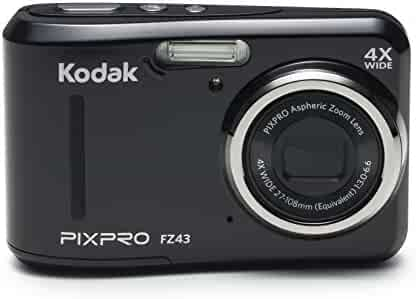 Kodak PIXPRO Friendly Zoom FZ43 16 MP Digital Camera with 4X Optical Zoom and 2.7