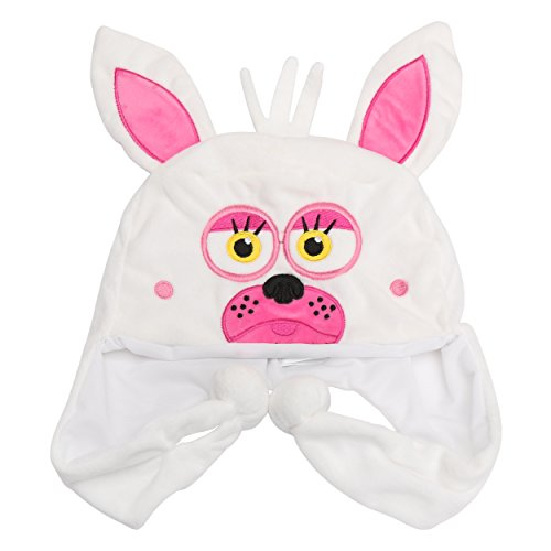 [Five Nights at Freddy's Plush Hats Mangle for Kids] (Foxy Five Nights At Freddys Costume)