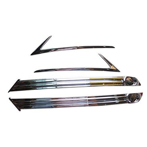 Cubiertas para faros antiniebla delanteros y traseros, de ABS, accesorios de coche, 1 juego YUZHONGTIAN Auto Trims Co. Ltd