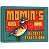MOMIN'S Outdoor Expeditions Stretched Canvas Sign 24