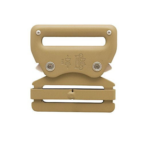 "Raptor I Tactical Military Police Aluminium Quick Release 2"" Gürtelschnalle Coyote Brown 10 Stück"