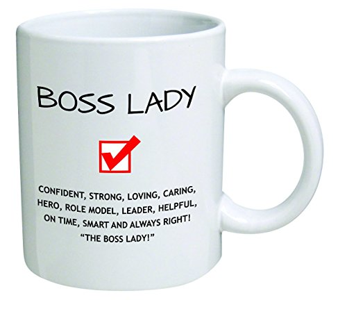Price comparison product image Funny Boss Lady 11OZ Coffee Mug Novelty,  Office,  Job