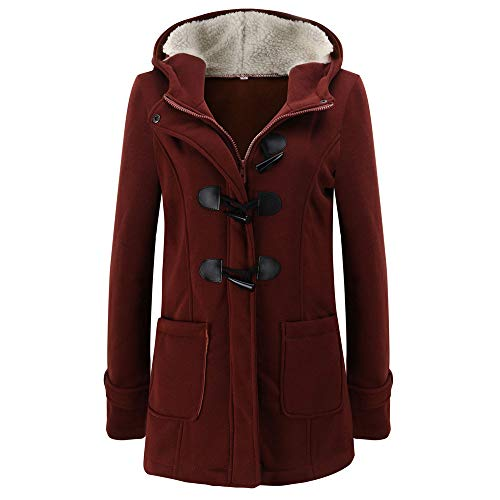 Used, Women's Coats with Hood, Women Warm Long Sleeve Pullover for sale  Delivered anywhere in USA