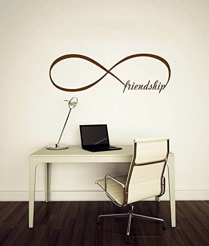 Amazon.com: DNVEN Infinity Series Wall Decals Friendship ...