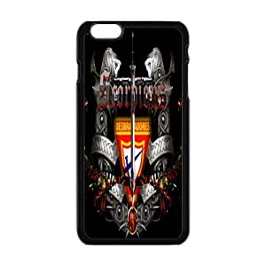 """Rock Band Style BlackIphone 6 Plus 5.5"""" Scorpions For Iphone 6 Plus 5.5 Inch"""