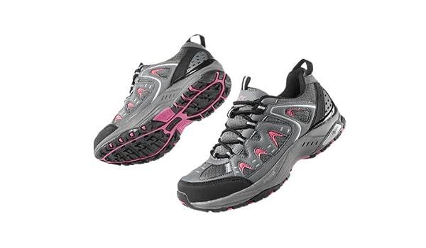 Crivit Sports - Zapatillas de Nordic Walking para Mujer Gris Gris 39: Amazon.es: Zapatos y complementos