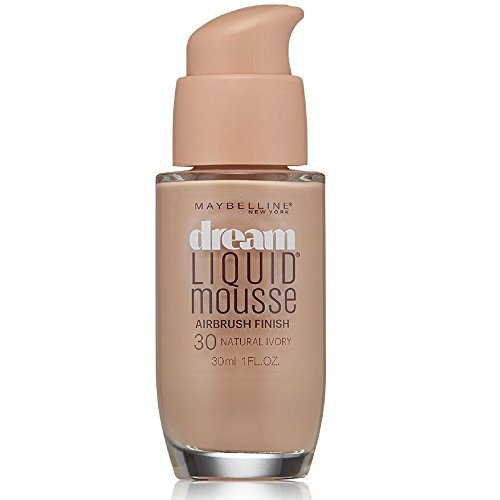 Maybelline Dream Satin Liquid Foundation, Ivory Beige [30], 1 oz (Pack of 2)