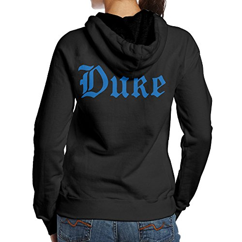 BNBN Women's Duke University Hoodies On The Back Size M Black
