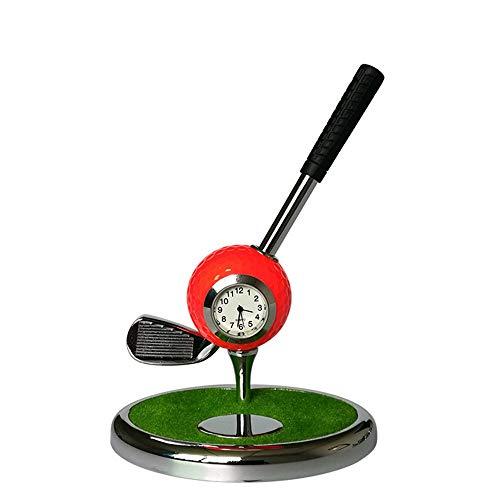 Golf Practice Equipment Functional Holder For Office Desktop Decoration (NO.7 Irons) Metal Ballpoint Pen Creative Golf Club Pen Golf Set Gift Multi-function Pen ( Color : C2 , Size : No. 7 irons )